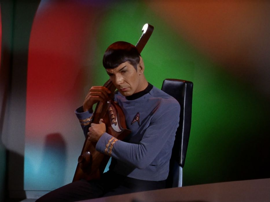 STAR TREK sci-fi action adventure television music mood guitar    g wallpaper