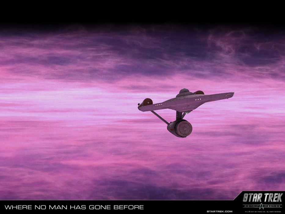 STAR TREK sci-fi action adventure television poster spaceship   fd wallpaper