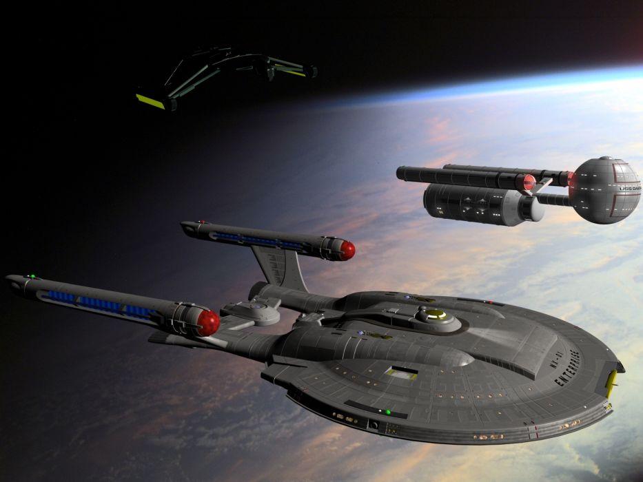 STAR TREK sci-fi action adventure television poster spaceship space planet     g wallpaper