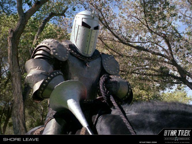 STAR TREK sci-fi action adventure television poster warrior knight armor fantasy f wallpaper