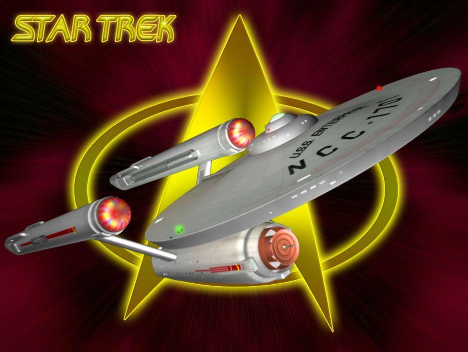 STAR TREK sci-fi action adventure television spaceship      hff wallpaper