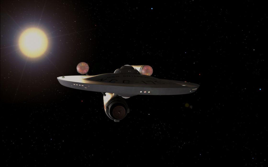 STAR TREK sci-fi action adventure television spaceship   gd wallpaper