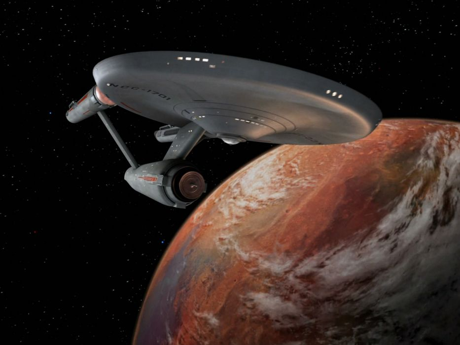 STAR TREK sci-fi action adventure television spaceship planet space stars  f wallpaper