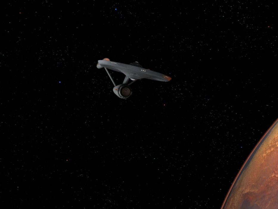 STAR TREK sci-fi action adventure television spaceship planet space stars  fg wallpaper
