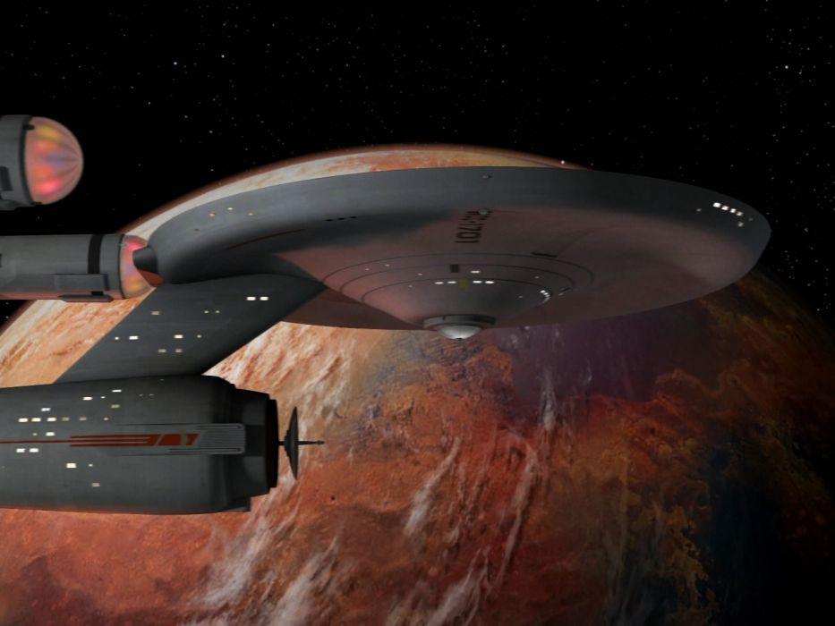 STAR TREK sci-fi action adventure television spaceship planet space stars  fo wallpaper