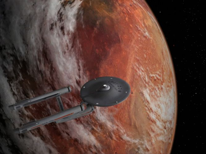 STAR TREK sci-fi action adventure television spaceship planet space stars gj wallpaper