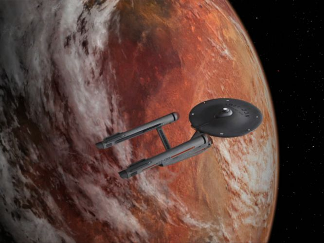 STAR TREK sci-fi action adventure television spaceship planet space stars h wallpaper