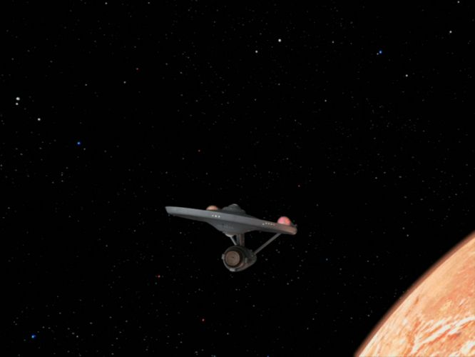 STAR TREK sci-fi action adventure television spaceship space stars planet d wallpaper