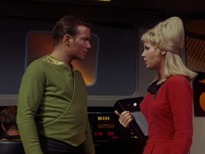 STAR TREK sci-fi action adventure television the-enemy-within (398) wallpaper
