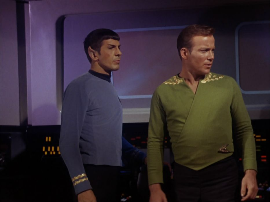 STAR TREK sci-fi action adventure television the-enemy-within (396) wallpaper