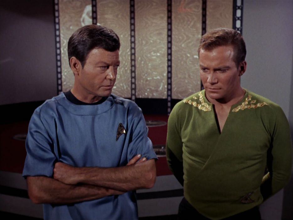 STAR TREK sci-fi action adventure television the-enemy-within (393) wallpaper
