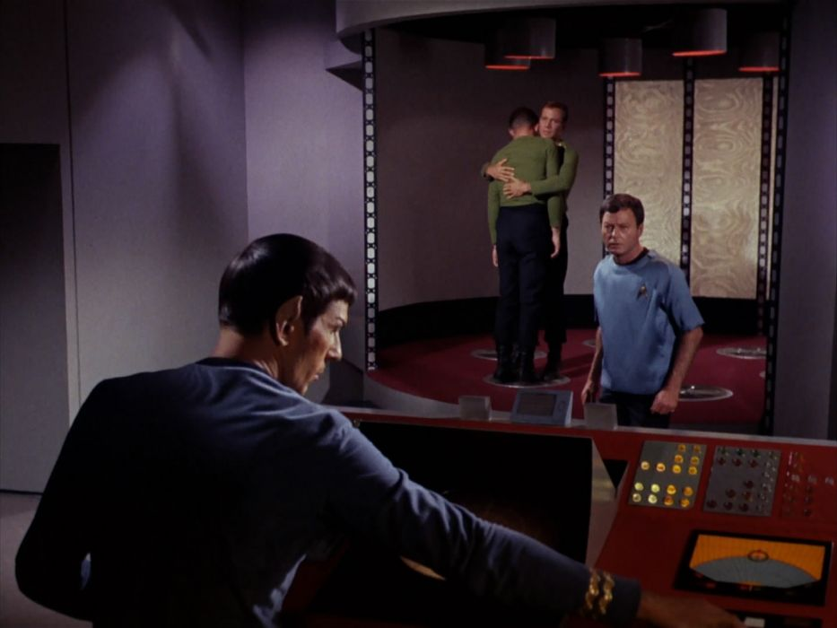 STAR TREK sci-fi action adventure television the-enemy-within (387) wallpaper