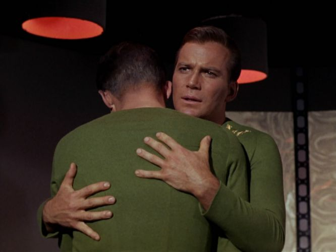 STAR TREK sci-fi action adventure television the-enemy-within (385) wallpaper