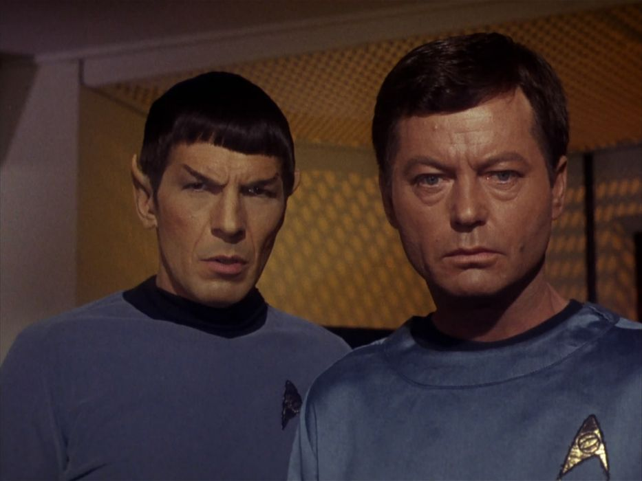 STAR TREK sci-fi action adventure television the-enemy-within (383) wallpaper
