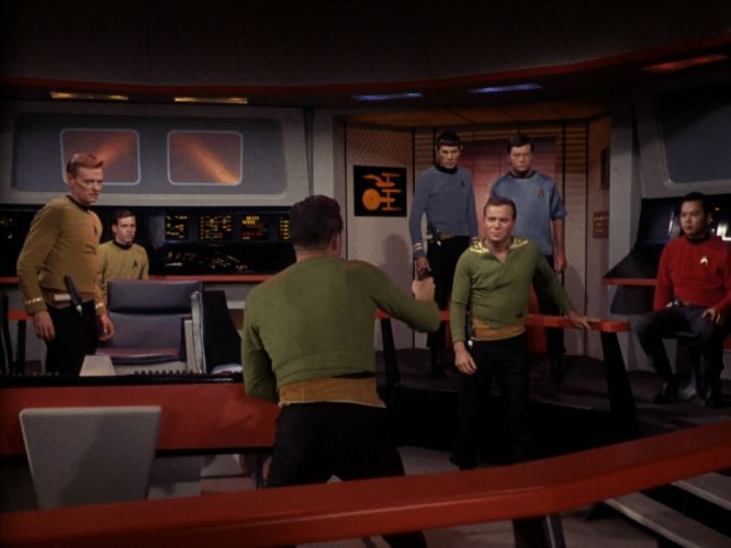 STAR TREK sci-fi action adventure television the-enemy-within (376) wallpaper