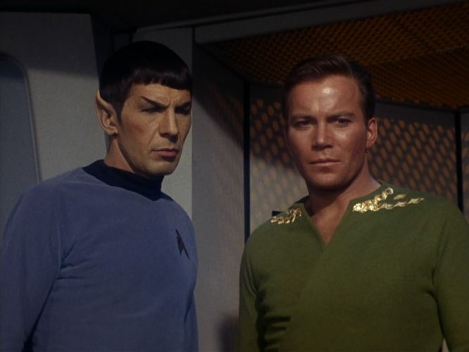 STAR TREK sci-fi action adventure television the-enemy-within (373) wallpaper