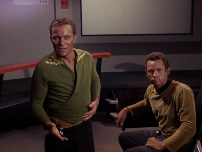 STAR TREK sci-fi action adventure television the-enemy-within (372) wallpaper