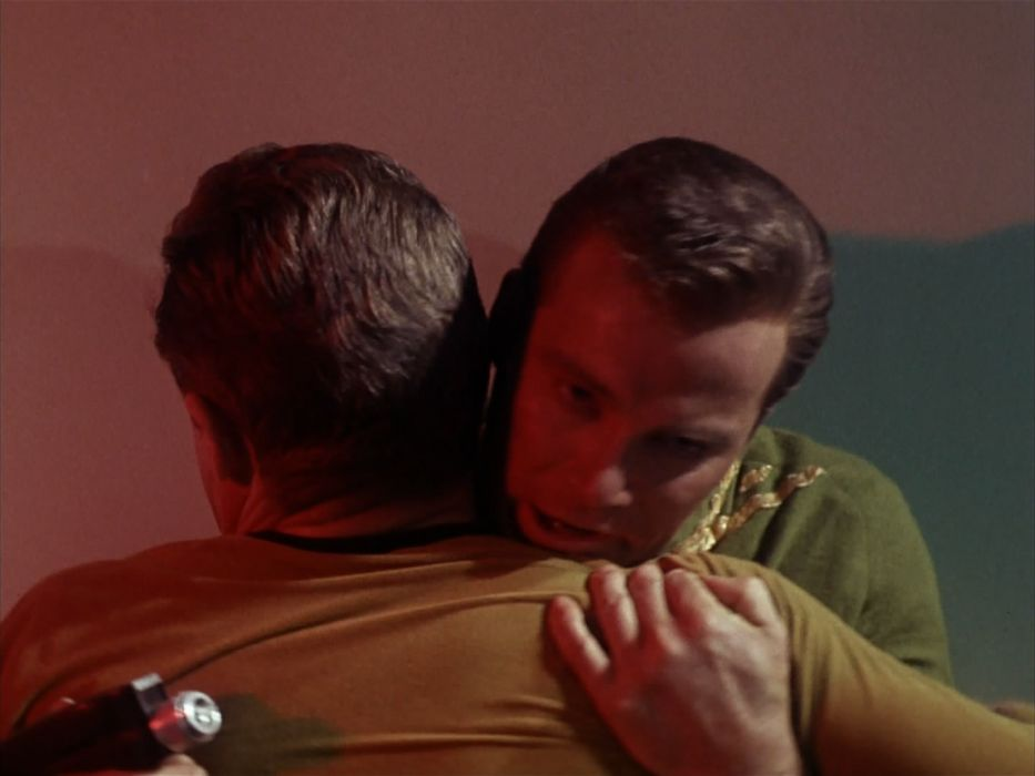 STAR TREK sci-fi action adventure television the-enemy-within (365) wallpaper