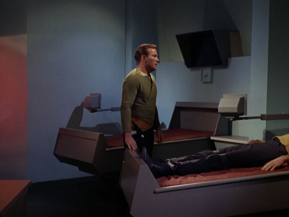 STAR TREK sci-fi action adventure television the-enemy-within (359) wallpaper