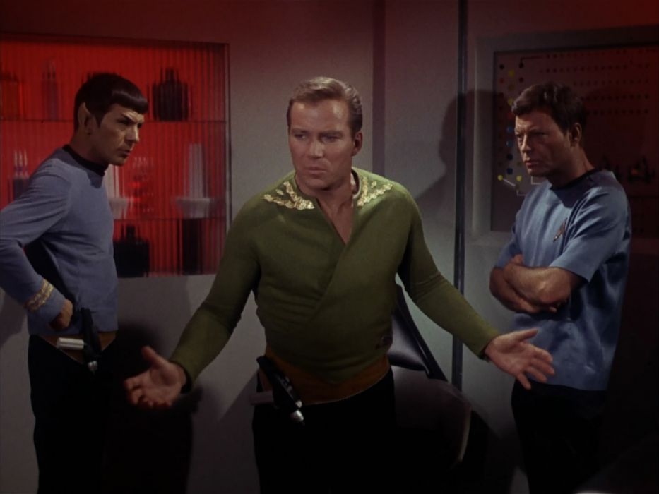 STAR TREK sci-fi action adventure television the-enemy-within (355) wallpaper