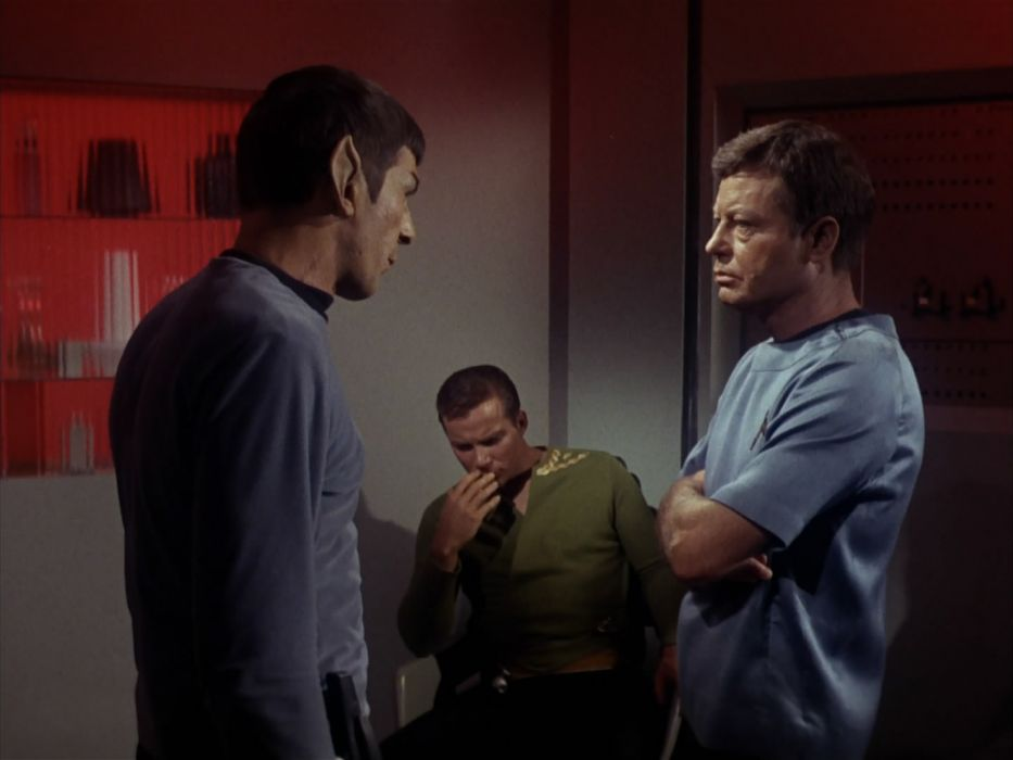 STAR TREK sci-fi action adventure television the-enemy-within (352) wallpaper