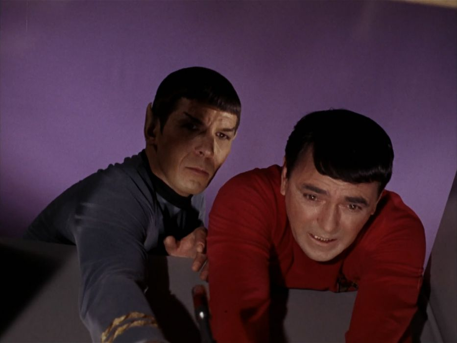 STAR TREK sci-fi action adventure television the-enemy-within (334) wallpaper