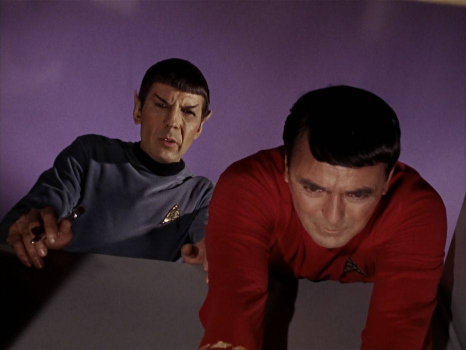 STAR TREK sci-fi action adventure television the-enemy-within (332) wallpaper