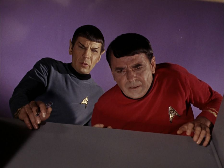 STAR TREK sci-fi action adventure television the-enemy-within (331) wallpaper