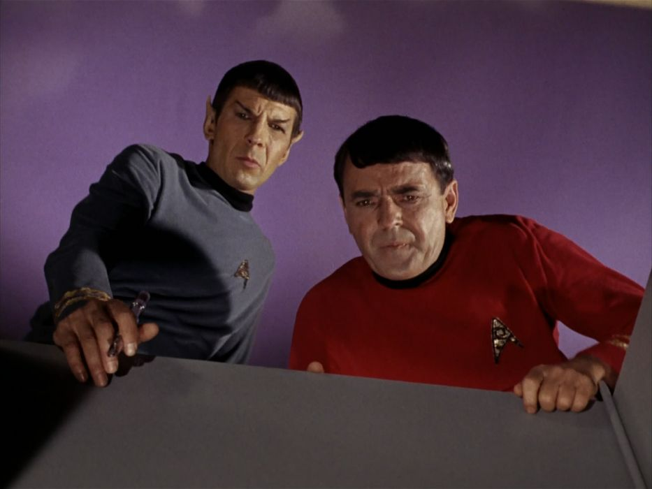 STAR TREK sci-fi action adventure television the-enemy-within (330) wallpaper