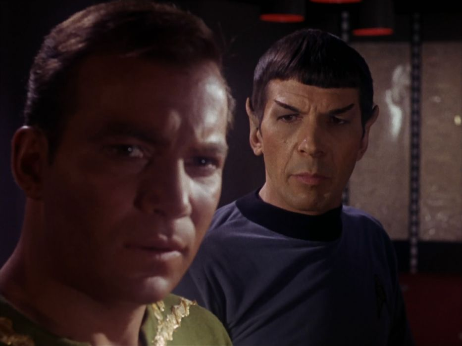 STAR TREK sci-fi action adventure television the-enemy-within (324) wallpaper
