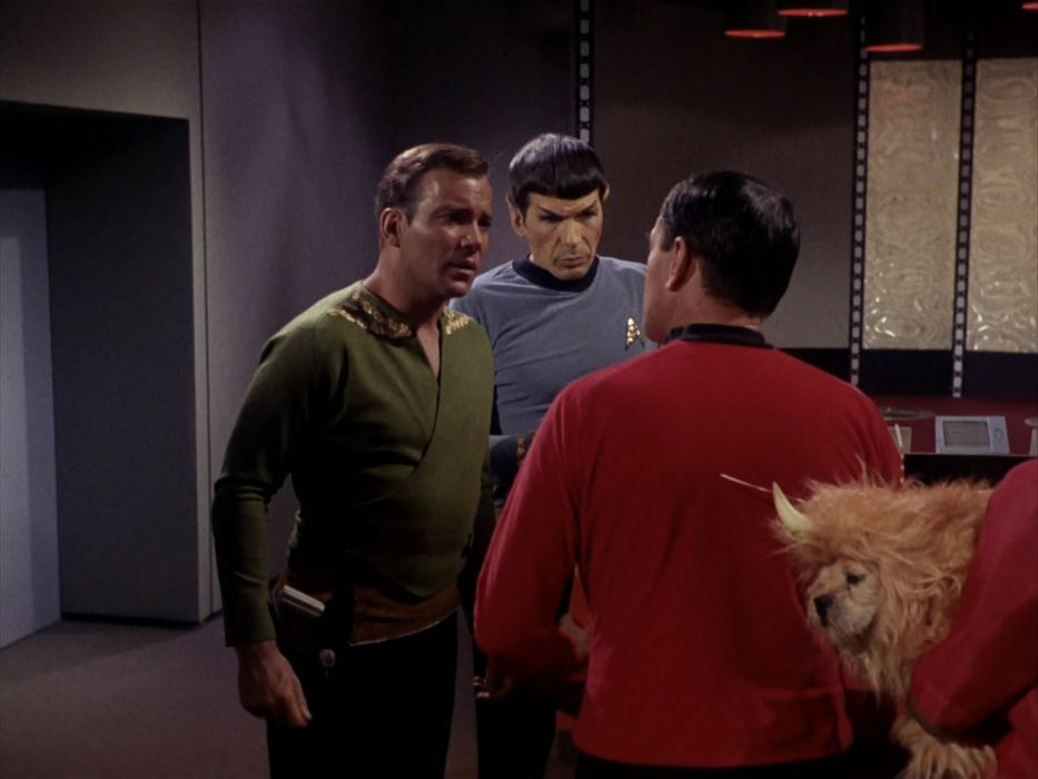 STAR TREK sci-fi action adventure television the-enemy-within (323) wallpaper