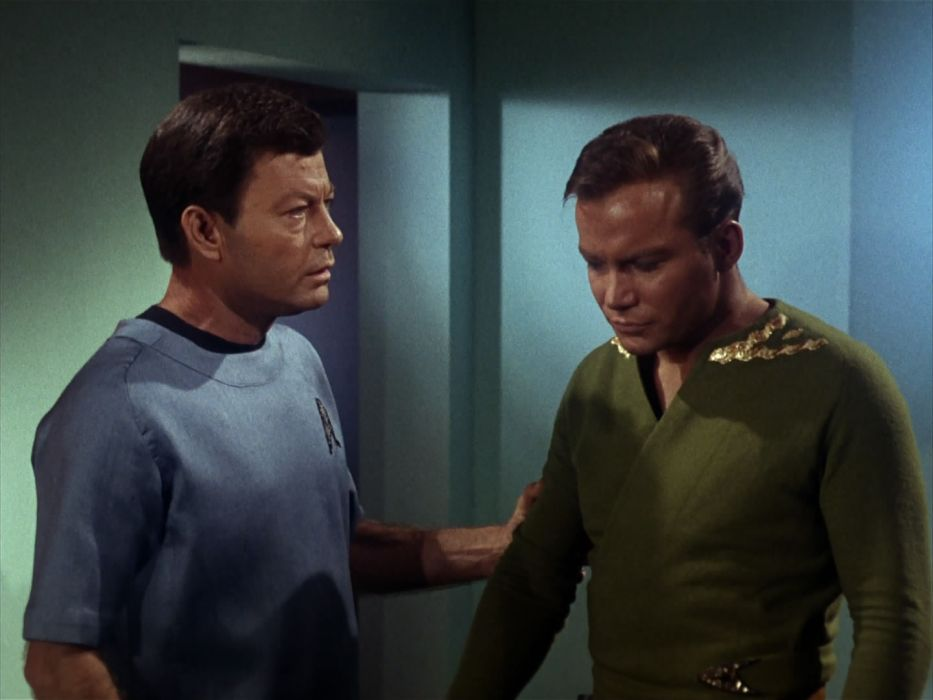 STAR TREK sci-fi action adventure television the-enemy-within (320) wallpaper