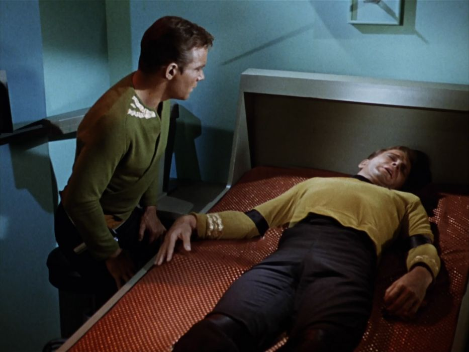 STAR TREK sci-fi action adventure television the-enemy-within (314) wallpaper