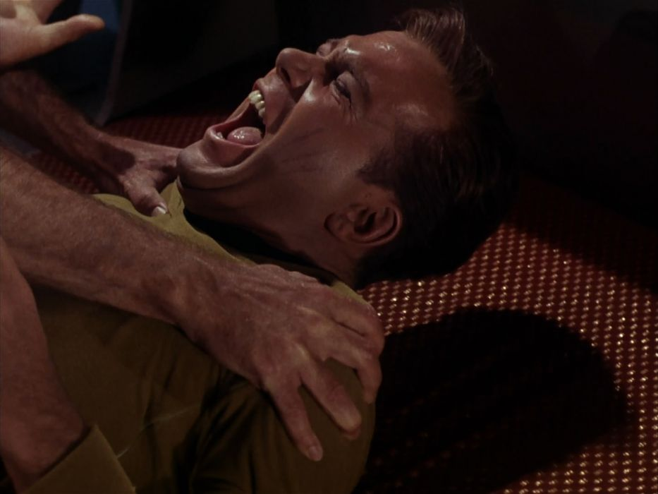 STAR TREK sci-fi action adventure television the-enemy-within (311) wallpaper
