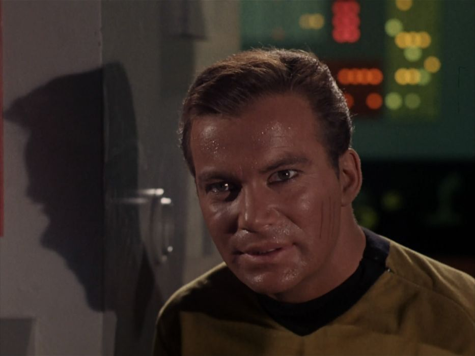 STAR TREK sci-fi action adventure television the-enemy-within (286) wallpaper