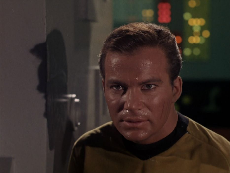 STAR TREK sci-fi action adventure television the-enemy-within (284) wallpaper