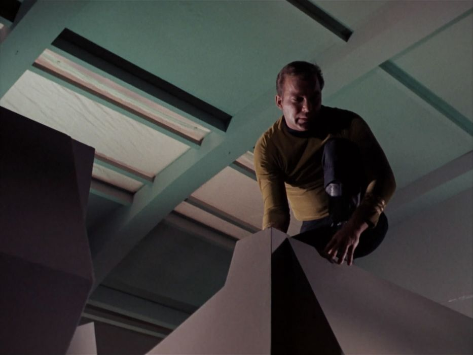 STAR TREK sci-fi action adventure television the-enemy-within (279) wallpaper