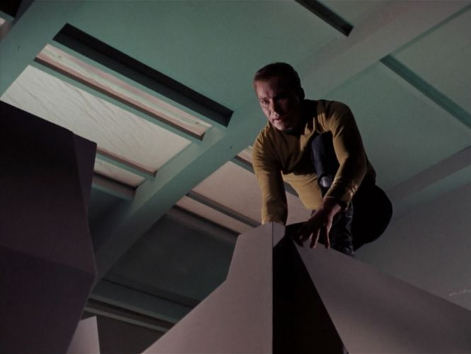 STAR TREK sci-fi action adventure television the-enemy-within (277) wallpaper