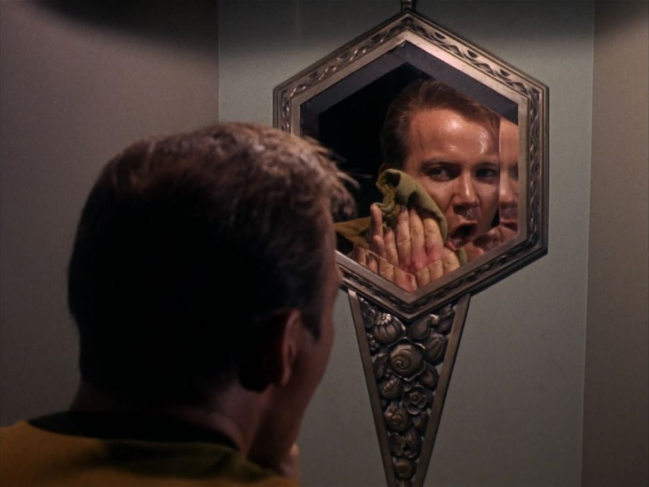 STAR TREK sci-fi action adventure television the-enemy-within (262) wallpaper