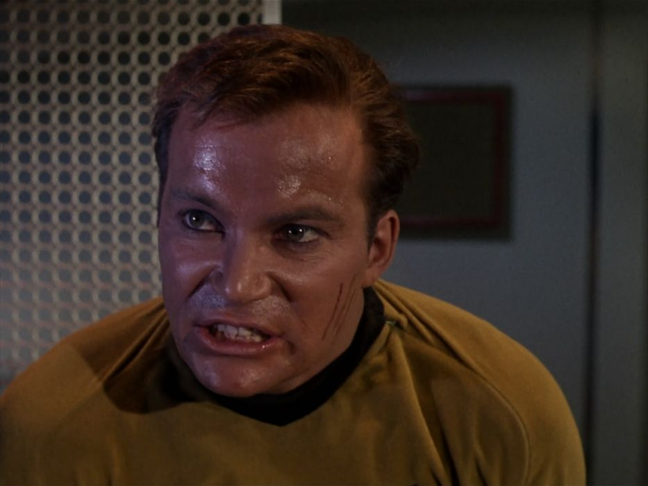 STAR TREK sci-fi action adventure television the-enemy-within (256) wallpaper