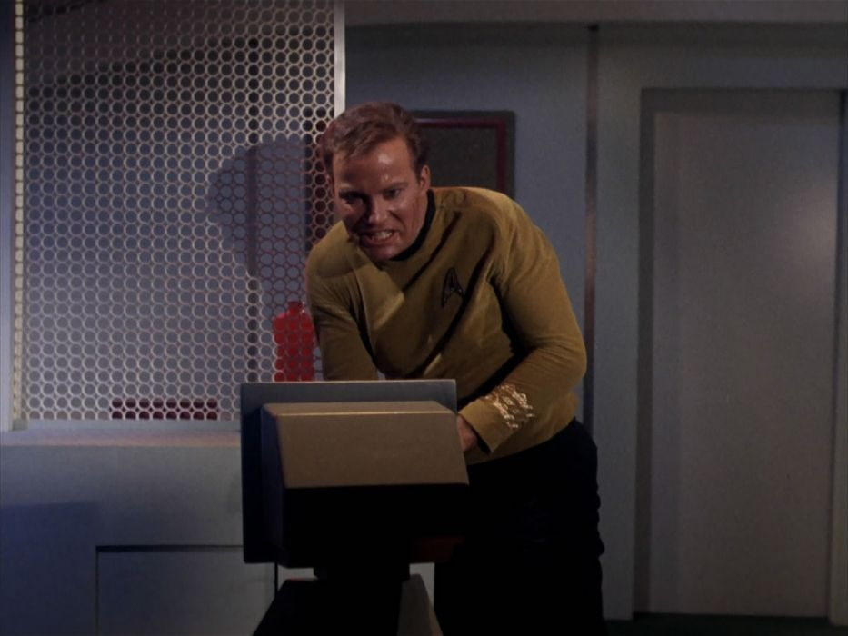 STAR TREK sci-fi action adventure television the-enemy-within (249) wallpaper