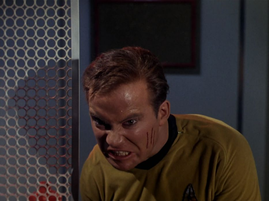 STAR TREK sci-fi action adventure television the-enemy-within (248) wallpaper