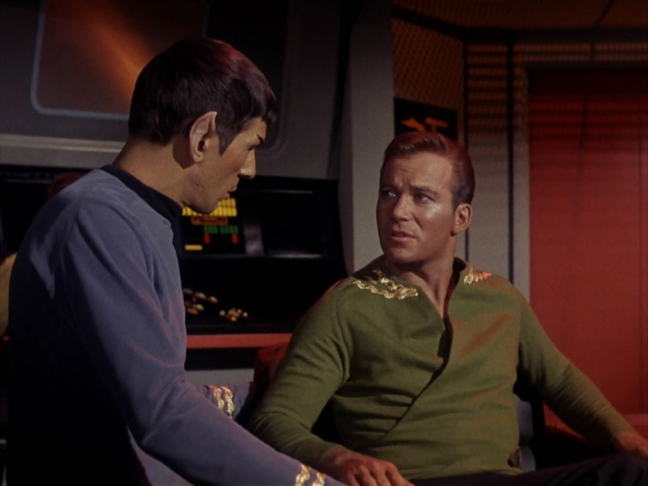 STAR TREK sci-fi action adventure television the-enemy-within (246) wallpaper