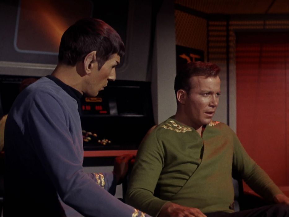 STAR TREK sci-fi action adventure television the-enemy-within (245) wallpaper