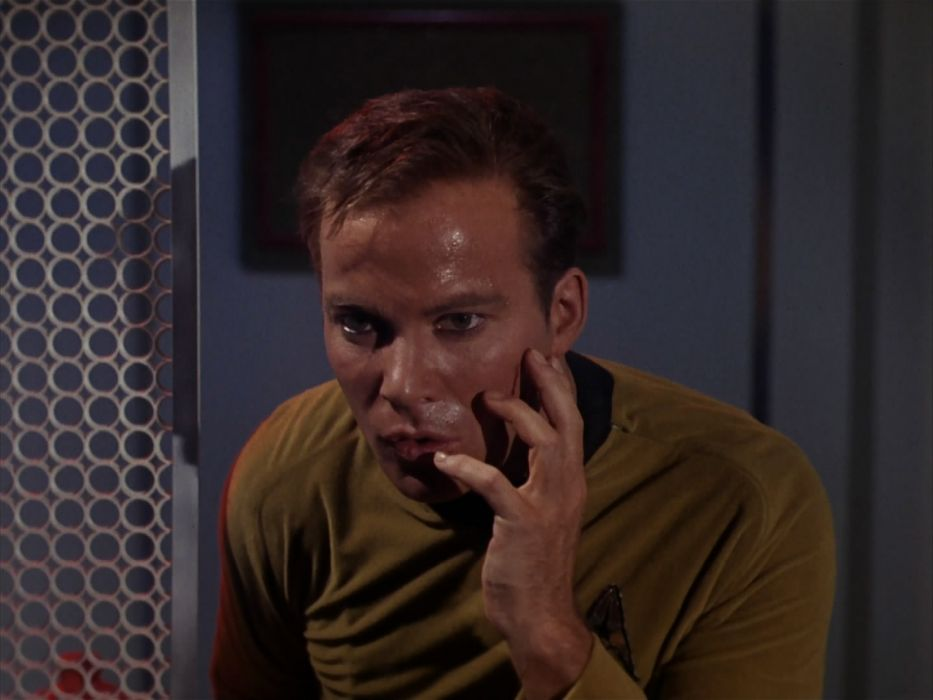 STAR TREK sci-fi action adventure television the-enemy-within (242) wallpaper