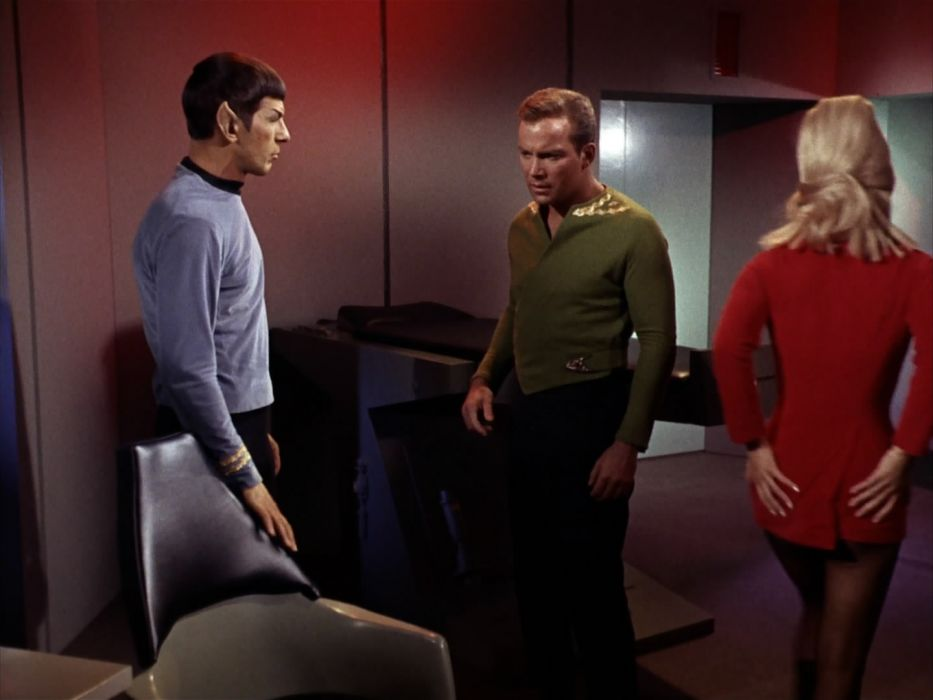 STAR TREK sci-fi action adventure television the-enemy-within (211) wallpaper