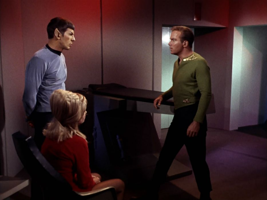 STAR TREK sci-fi action adventure television the-enemy-within (207) wallpaper