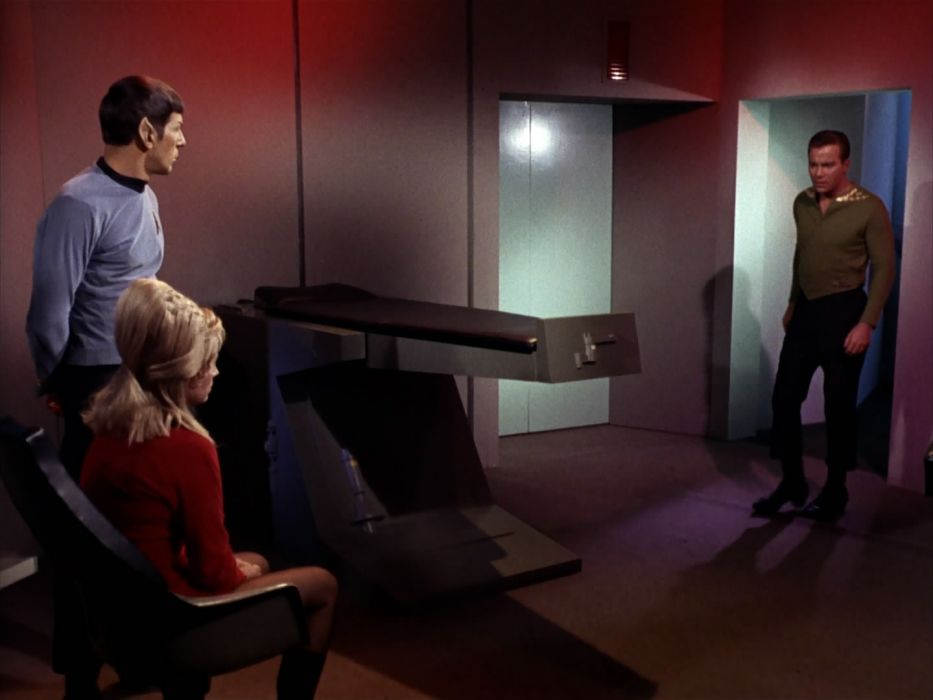 STAR TREK sci-fi action adventure television the-enemy-within (206) wallpaper