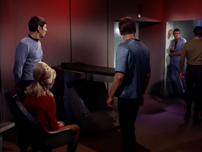 STAR TREK sci-fi action adventure television the-enemy-within (201) wallpaper