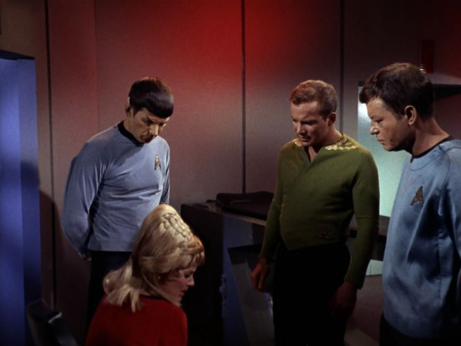 STAR TREK sci-fi action adventure television the-enemy-within (193) wallpaper